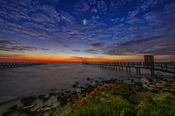 Sunrise Moonrise Photography Art | John Martell Photography