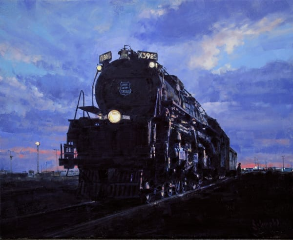 Cheyenne Twilight Art for Sale