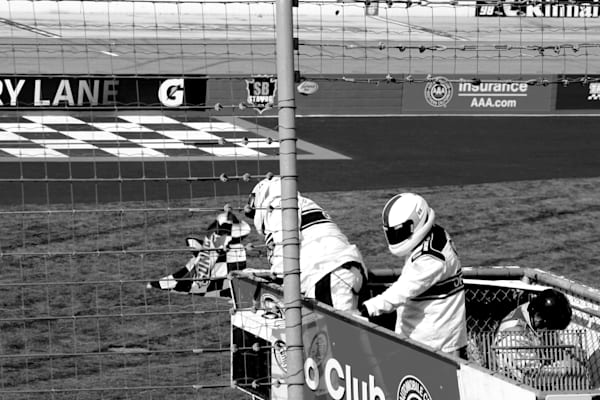 Checkered Flag Auto Club Speedway Art | ARTHOUSEarts