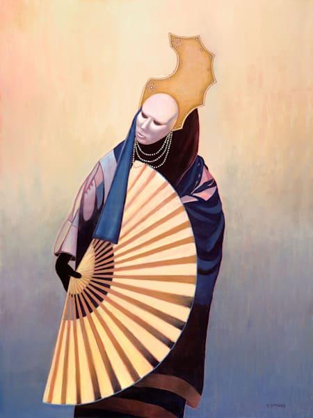 Venetian Fan - Original