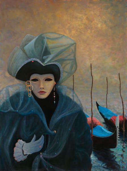 Venetian Girl - Original
