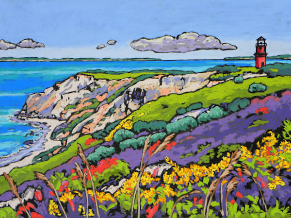 Aquinnah Cliffs Art | Sally C. Evans Fine Art
