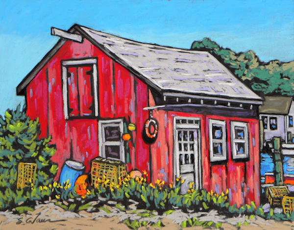 Menemsha Shed Art | Sally C. Evans Fine Art