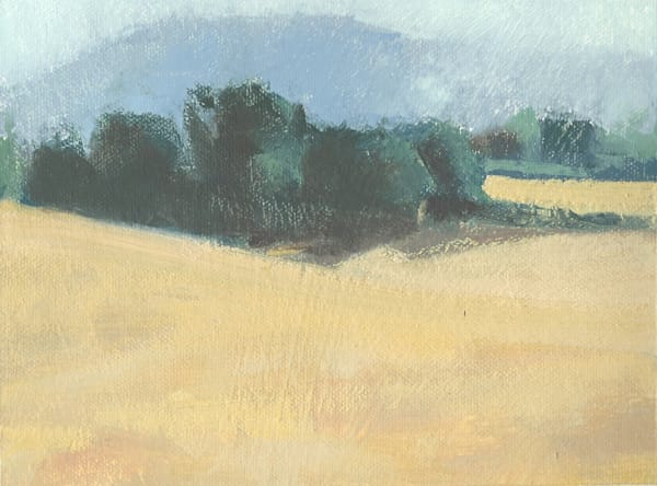Italian Farmland | Original Oil Painting by Antrese Wood
