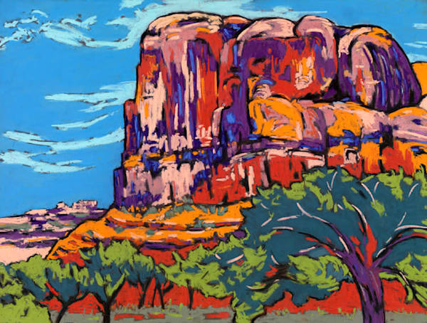 Kane Creek Canyon Art | Sally C. Evans Fine Art
