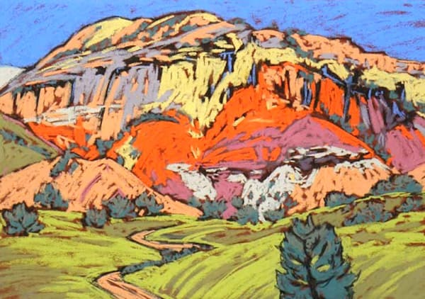 Fall At Ghost Ranch Art | Sally C. Evans Fine Art