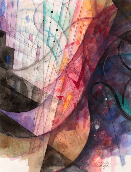 Musical Abstract Ii Art | Freiman Stoltzfus Gallery
