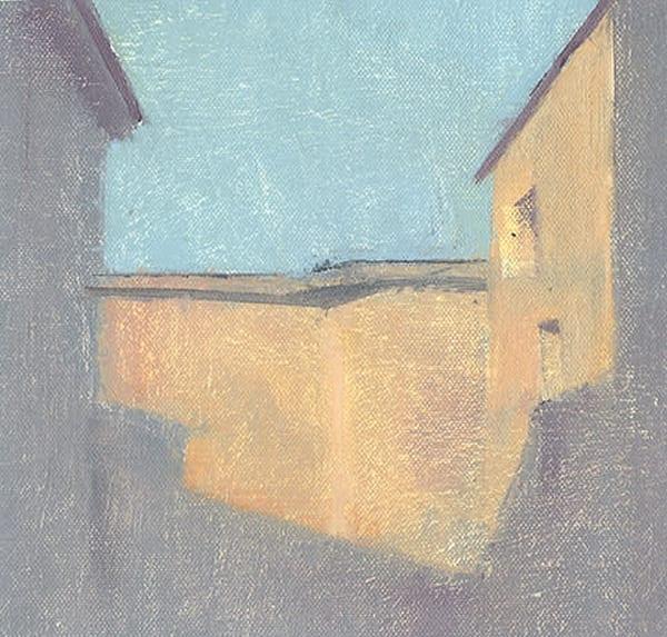 Civita Castellana | Original Oil Painting by Antrese Wood