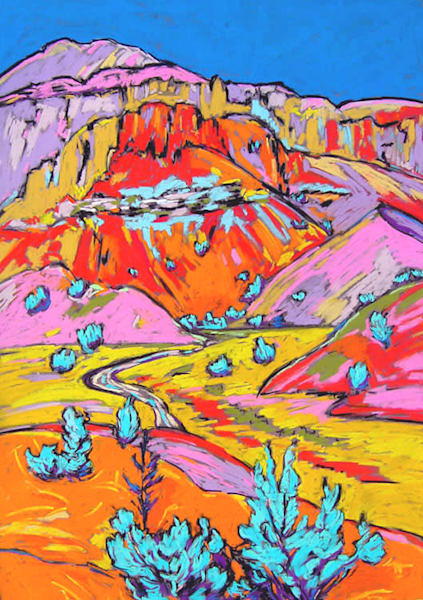 Ghost Ranch Morning Art | Sally C. Evans Fine Art