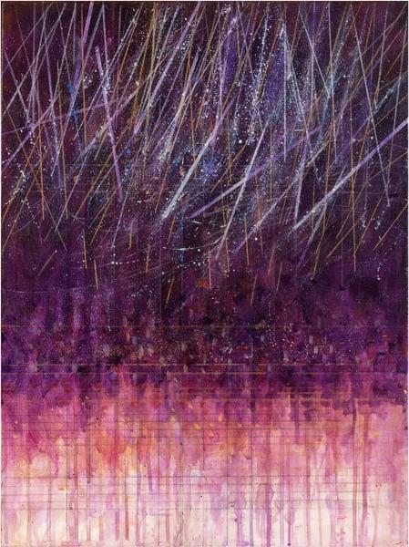Purple Crescendo Ii Art | Freiman Stoltzfus Gallery