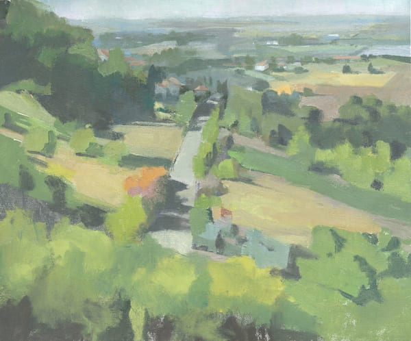 Towards Civita | Original Oil Painting by Antrese Wood