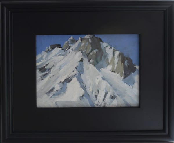 Mt. Morrison, California Plein Air Painting | Antrese Wood