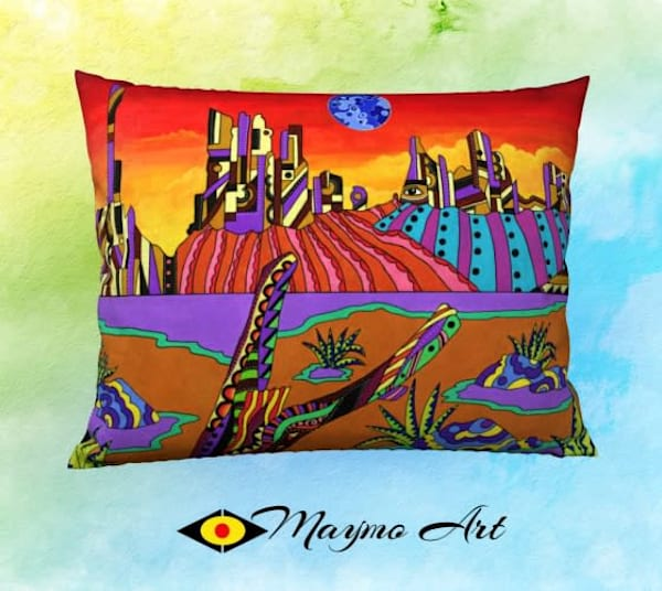 Monument Valley Pillow