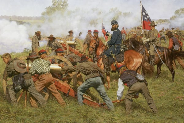 Civil War and Military Paintings and Prints by Bradley Schmehl