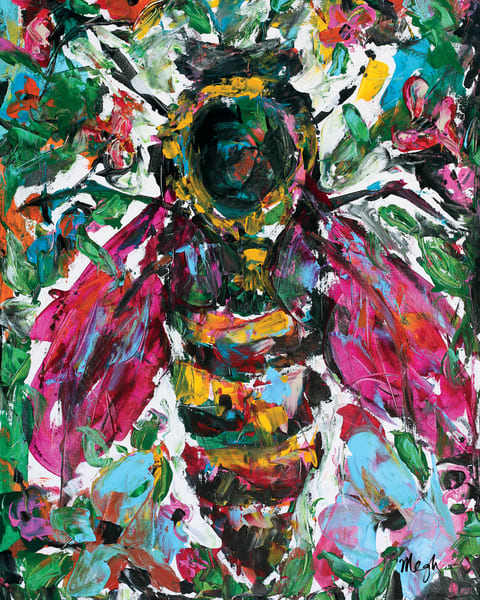 Paradise Queen, Bee Painting