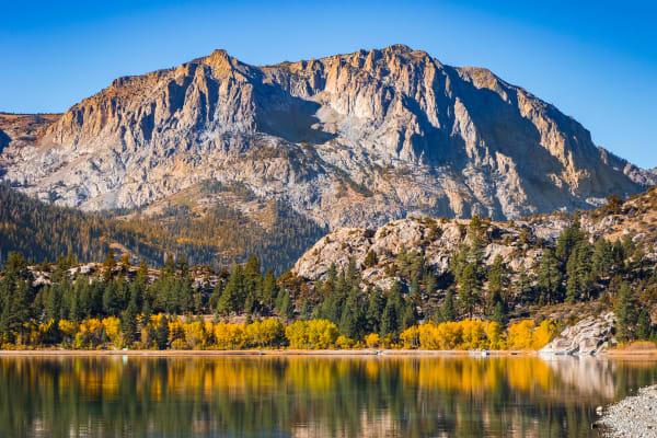 June Lake in Fall