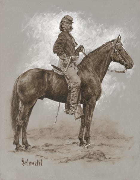 George A. Custer Art for Sale