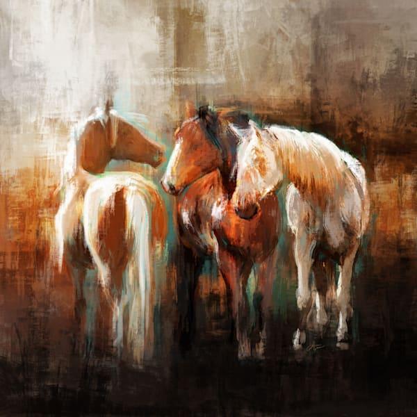 Three Rusty Amigos Art Print