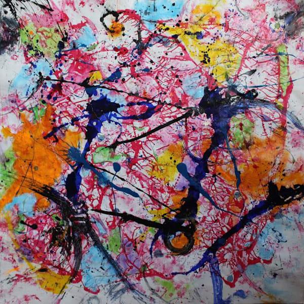 Springtime Dance Art | Lesley Koenig Studio