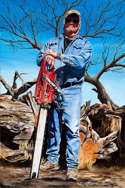 Fine art print of Terry Lankford