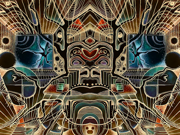 Kaleidoscopery - Fine Art Prints for Sale - The Art of Ishka Lha