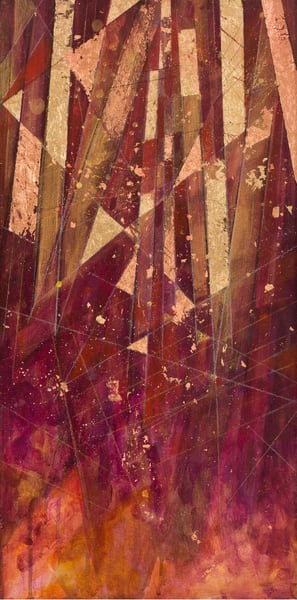 Crescendo In Red And Gold Ii Art | Freiman Stoltzfus Gallery