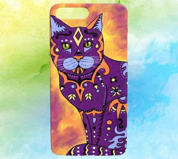 Mystery Cat iPhone Cover 7/8 Plus