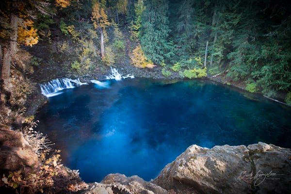 Tamolitch Blue Pool Photo for sale by Barb Gonzalez Photography