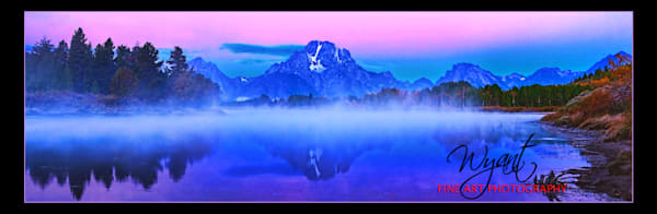 Sunrise Reflection Panorama:  Shop Fine Art Photography | Jim Wyant, Master Craftsman (317)663-4798