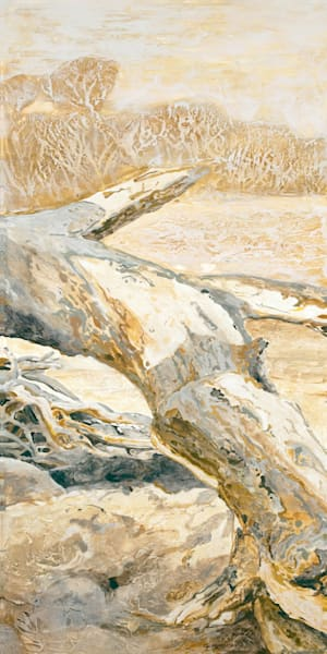 Ensembles in Golds & Greys 2 (Center) | Contemporary Landscapes | Gordon Meggison IV