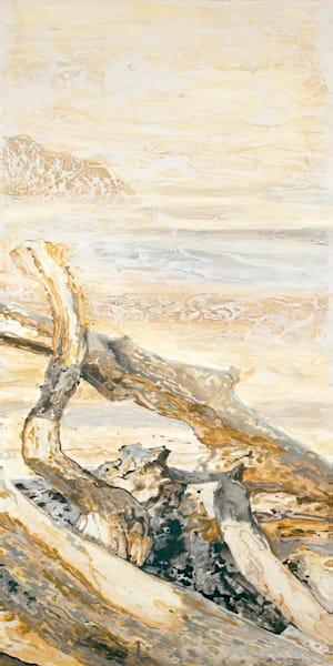 Ensembles in Golds & Greys 3 (Right) | Contemporary Landscapes | Gordon Meggison IV