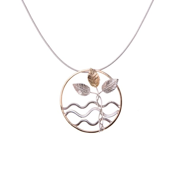 The Tree Of Life By The Riverside Necklace by Norma Jean Murrain | Prophetics Gallery