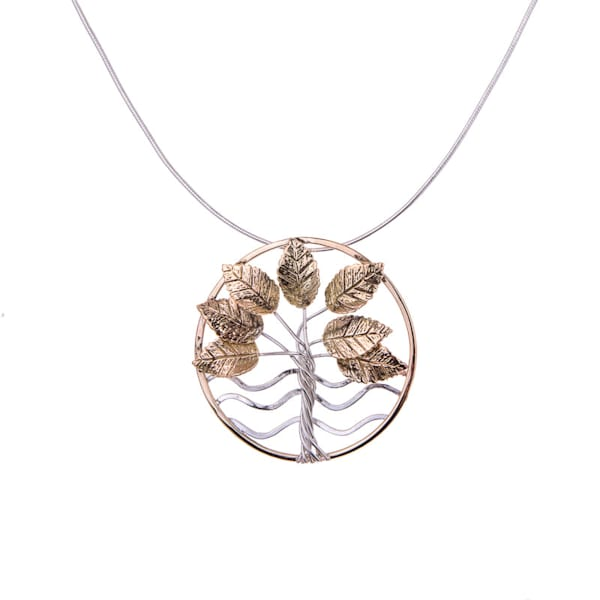 The Tree Of Life Gold Necklace by Norma Jean Murrain | Prophetics Gallery