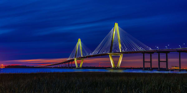 Arthur Ravenal Bridge Photography Art | John Martell Photography