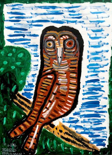 Trevor Brown 'Turbo' art