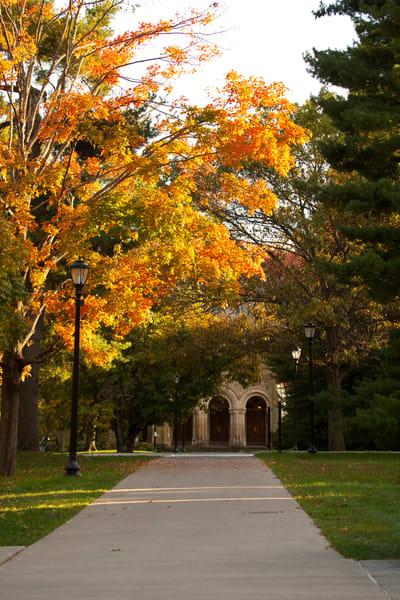 Path to Chapel - Vassar College
