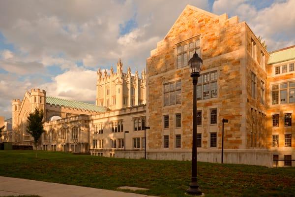 Thompson Library from Raymond Ave. - Vassar College
