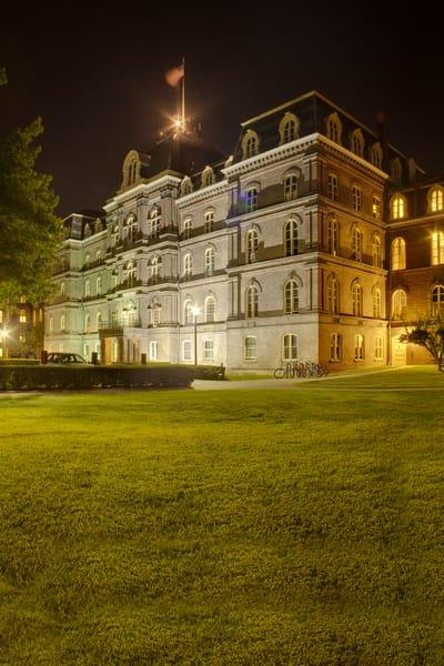 Administration Building Night - Vassar College