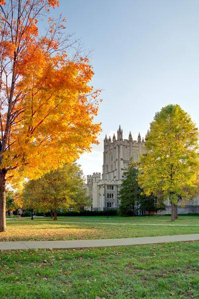 Thompson Library Fall - Vassar College - NY