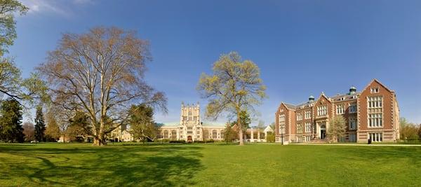 Thompson Library and Rockefeller Hall - Vassar College