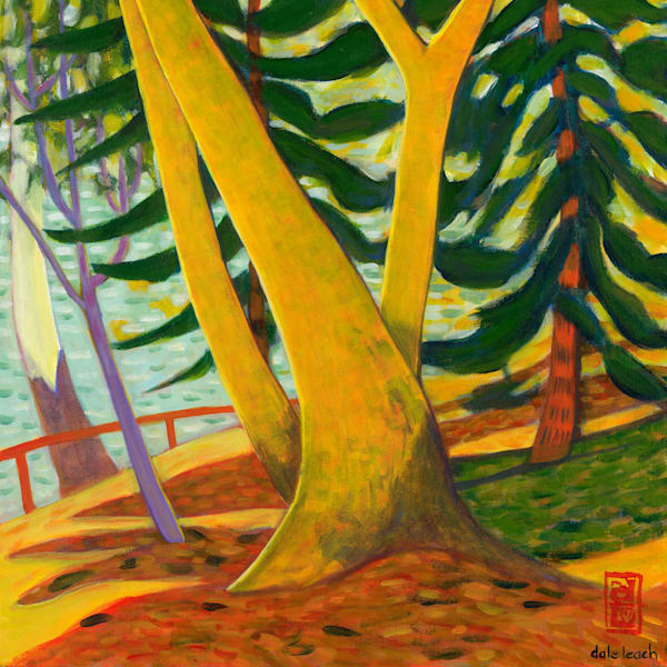 Yellow Tree Lake Macdonald - Original