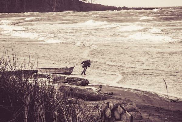 stormy north beach