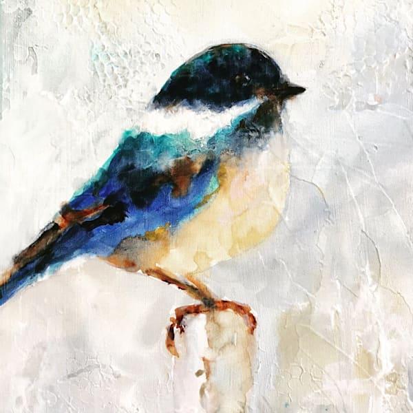 Sarah B Hansen Note Cards - Chickadee