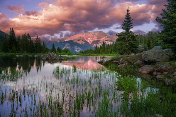 rocky mountains, red mountain