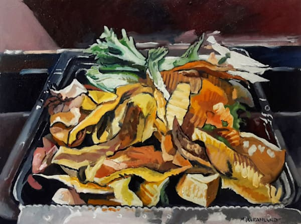 Sinkside Compost 8 Painting by Mark Granlund