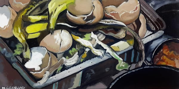 Sinkside Compost 9 Painting by Mark Granlund
