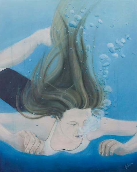 """""""Into The Depths"""" by Jeanette Sthamann 