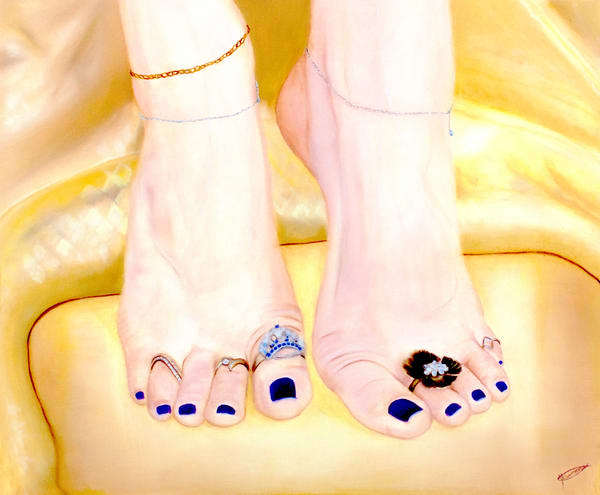 """""""How Beautiful The Feet"""" by Jeanette Sthamann   Prophetics Gallery"""