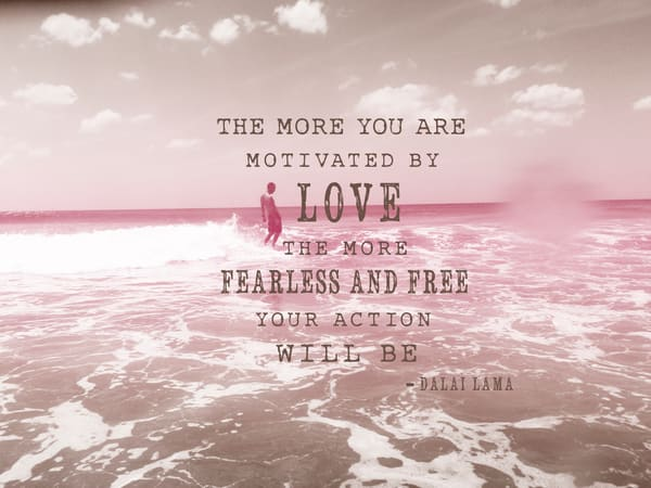 Motivated By Love