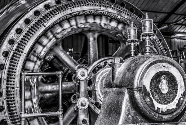 Classic Corliss Steam Powered Engine Electricity Generator fleblanc